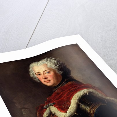 Portrait of Frederick II of Prussia (1712?1786) as Crown Prince, 1739 by Antoine Pesne