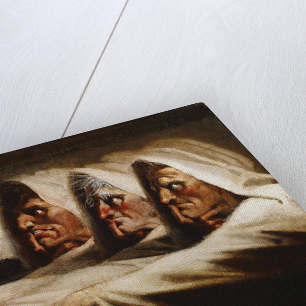 The Weird Sisters (The Three Witches), ca 1782 by Johann Heinrich Füssli