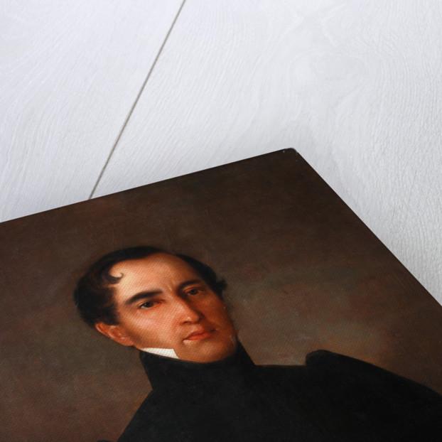 Portrait of Alexander Pavlovich Bakunin, 1832 by Yakov Streshnev