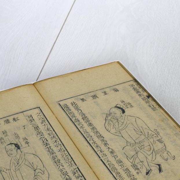 Shen Shi Yao Han (A Precious Book of Ophthalmology), 1644 by Fu Renyu