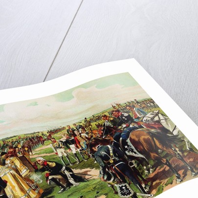 Marschall Mikhail Kutuzov before the Battle of Borodino, 1912 by Nikolai Semyonovich Samokish