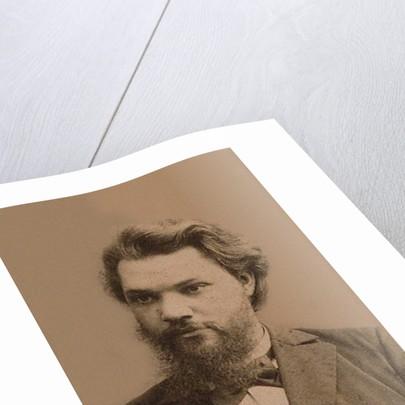 Portrait of Alexei Ivanovich Vvedensky (1861?1913), End of 19th century by Photo studio of Mikhail Volkov