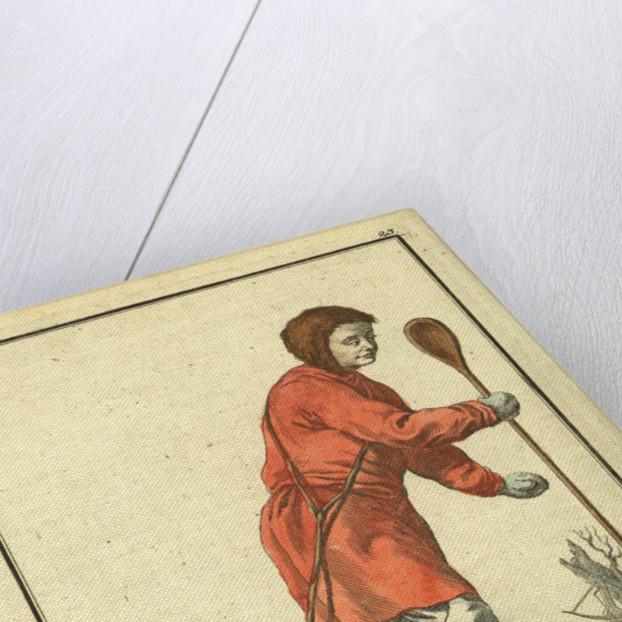 Ostyak  on a stoat hunt, 1799 by Johann Gottlieb Georgi