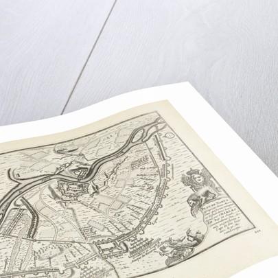 The Siege and Battle of Narva in 1700, 1726 by Pieter van der Aa