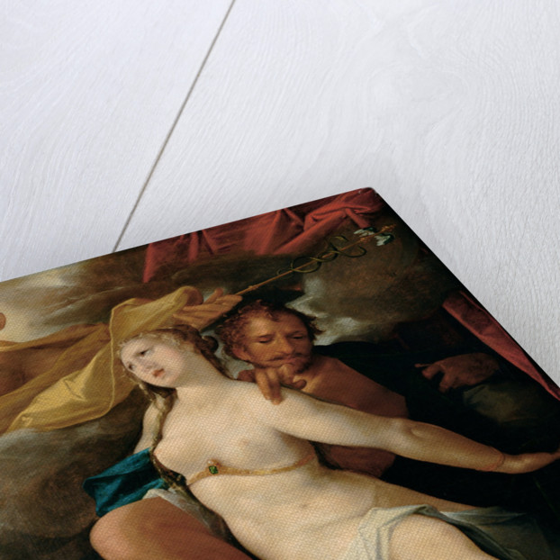 Venus and Mars warned by Mercury, ca 1586 by Bartholomeus Spranger