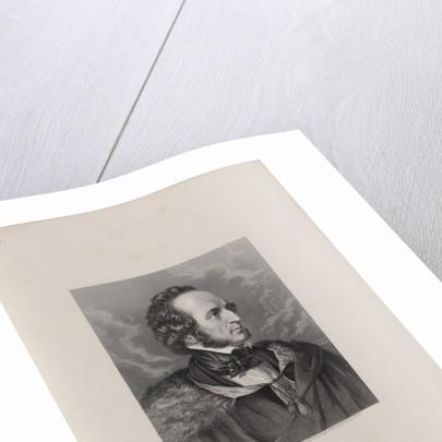 Portrait of Felix Mendelssohn Bartholdy, 1840s by Anonymous