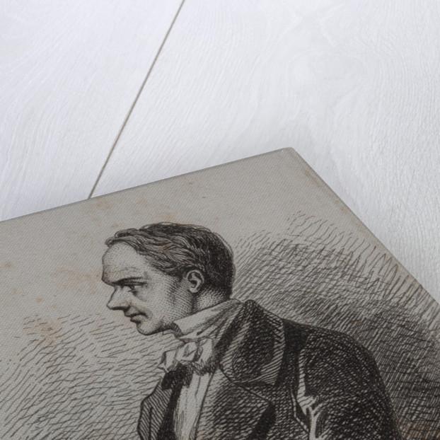 Portrait of the writer Prosper Mérimée, 1857 by Anonymous