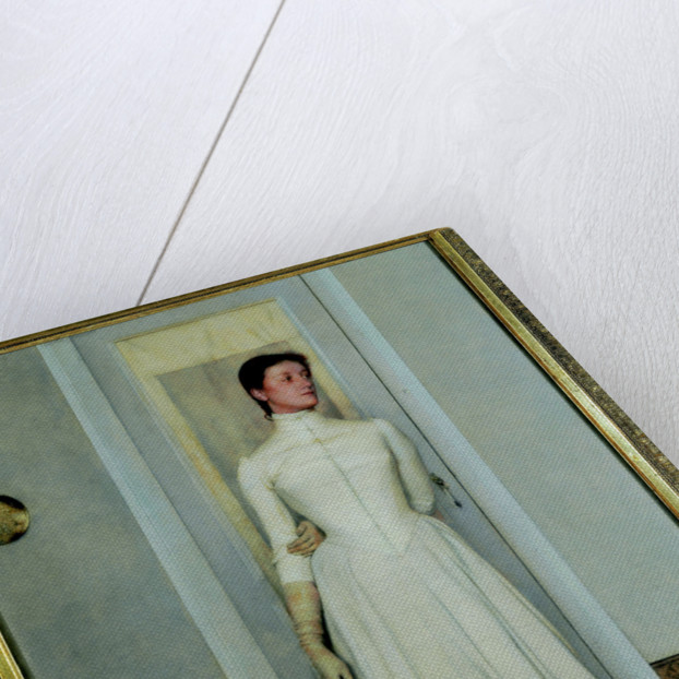 Portrait of Marguerite Khnopff, 1887 by Anonymous