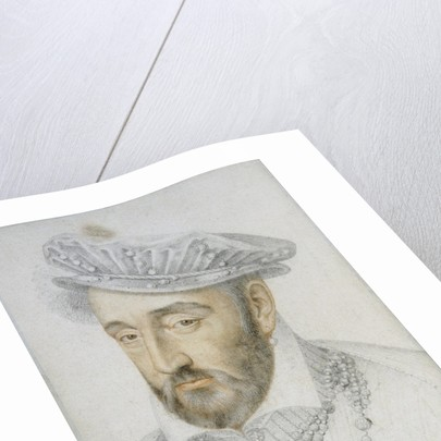 Portrait of King Henry II of France by Anonymous