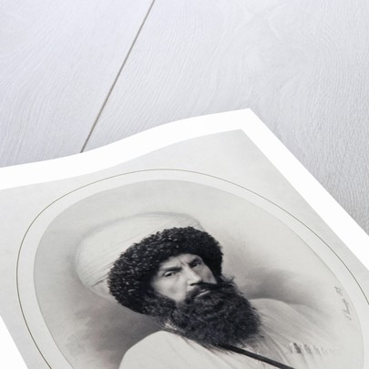 Portrait of Imam Shamil by Anonymous