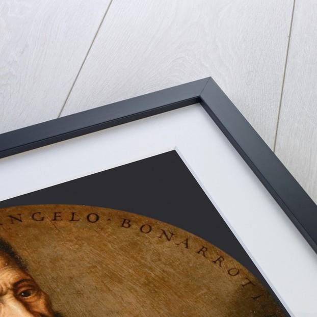 Portrait of Michelangelo Buonarroti by Anonymous