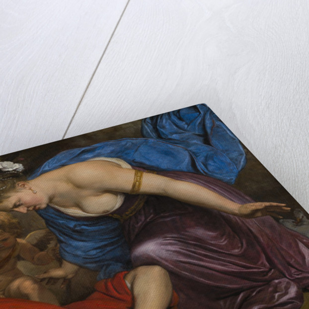 Venus and Cupid Mourning the Dead Adonis by Anonymous