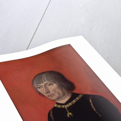 Portrait of Louis de Gruuthuse by Anonymous