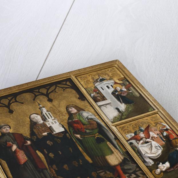 Saint Barbara Polyptych by Anonymous