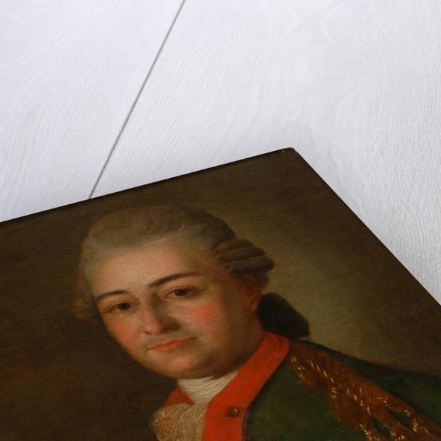 Portrait of Pyotr Alexeyevich Akinfov by Anonymous