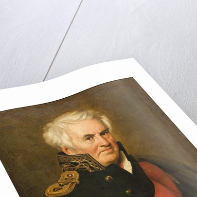 Portrait of the writer and admiral Alexander Semyonovich Shishkov by Anonymous