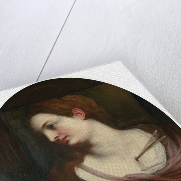 Saint Barbara by Anonymous