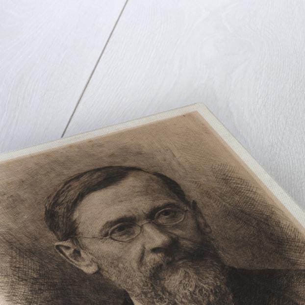 Portrait of the historian Vasily Klyuchevsky by Anonymous