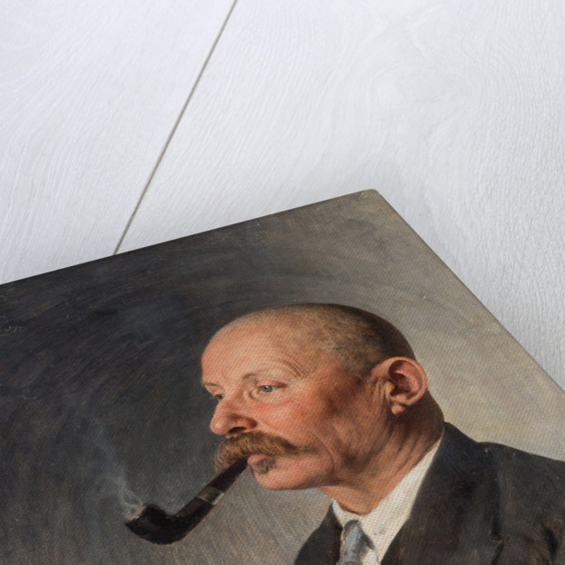 Portrait of the writer Aleksey Pavlovich Chapygin by Anonymous
