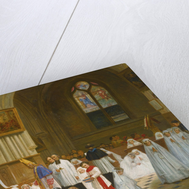 Confirmation at Villiers-le-Bel by Anonymous