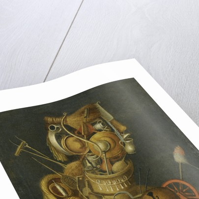 Anthropomorphic Still Life by Anonymous