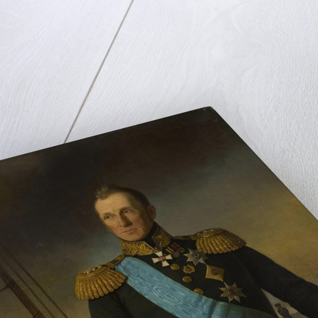 Portrait of Admiral Aleksey Samuilovich Greig by Anonymous