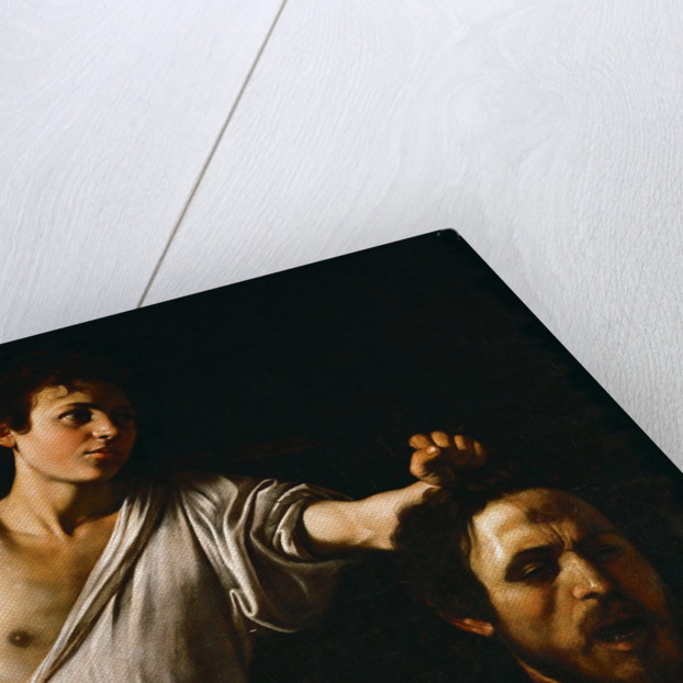 David with the Head of Goliath by Anonymous