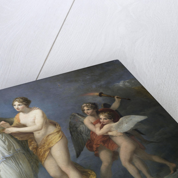 Venus Fastens the Girdle for Juno, c. 1811 by Anonymous
