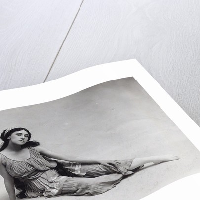 Tamara Karsavina as Echo in the Ballet Narcisse by N. Tcherepnin, 1912 by Anonymous