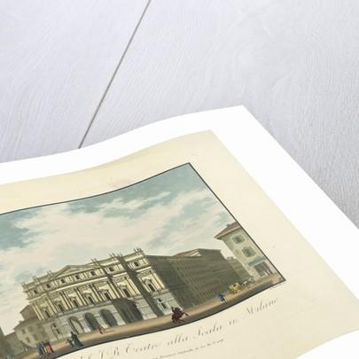 Teatro alla Scala, ca 1820 by Anonymous