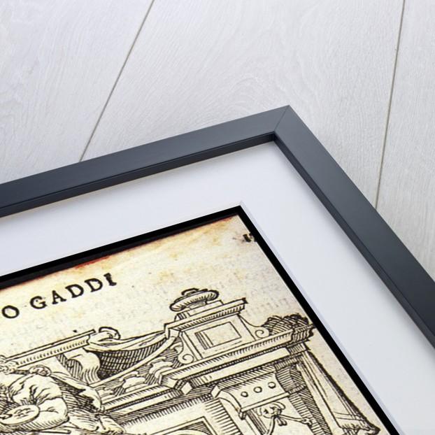 Taddeo Gaddi, ca 1568 by Anonymous