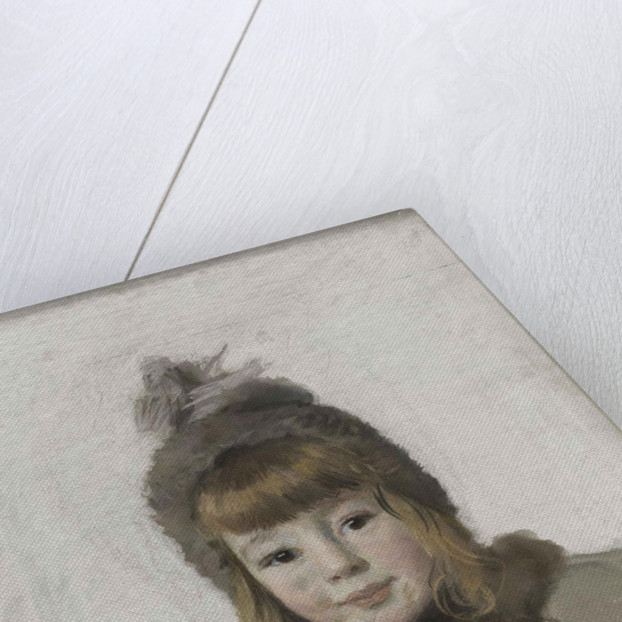 Portrait of a little girl, c. 1898 by Anonymous