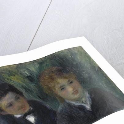 Portrait dun jeune homme et dune jeune fille, 1875-1880 by Anonymous