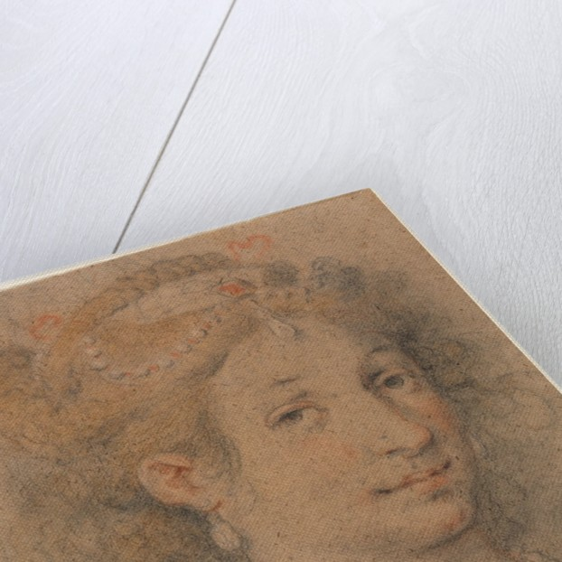 Head of a Woman, 1600s by Anonymous