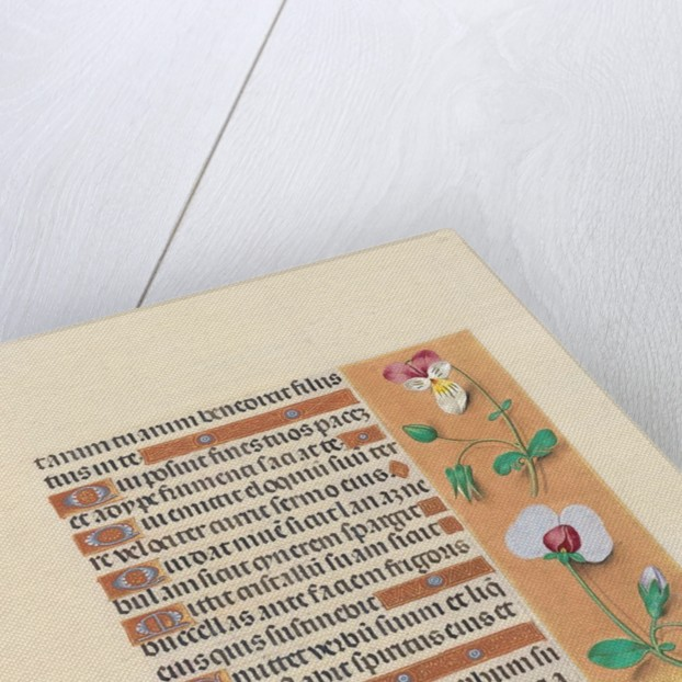 Hours of Queen Isabella the Catholic, Queen of Spain: Fol. 150r, c. 1500 by Master of the First Prayerbook of Maximillian