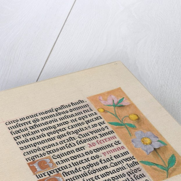 Hours of Queen Isabella the Catholic, Queen of Spain: Fol. 27r, c. 1500 by Master of the First Prayerbook of Maximillian