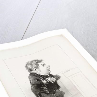 Michel Goudchaux, 1849 by Honoré Daumier