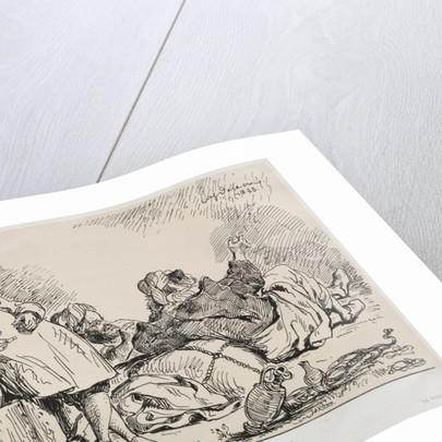 Muleteers of Tétuan, 1833 by Eugène Delacroix; Bertauts