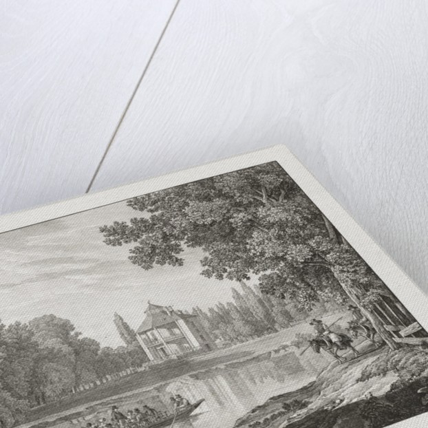 Nieder-oesterreich, Das Lusthaus im Prater by Jakob Alt