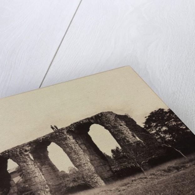 Roman Aqueduct, Beaunant, France, c. 1857 by F. Chabrol