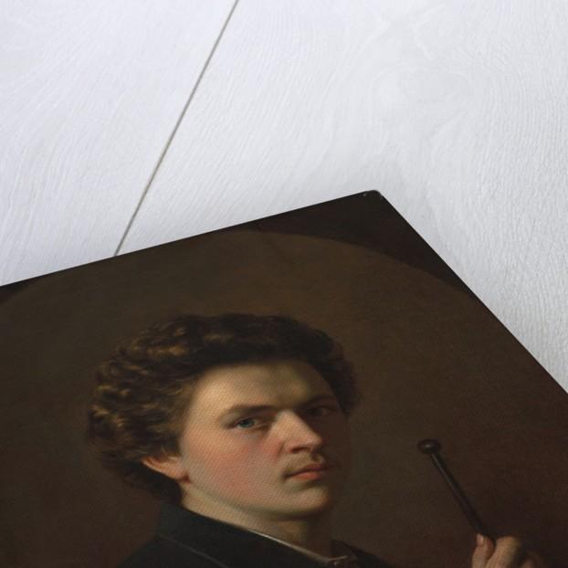 Self-Portrait with a Maulstick, c. 1863 by Henri Regnault