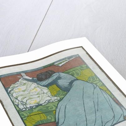 The Cushion, 1903 by Max Kurzweil; Gesellschaft Fur Vervielfaltigende Kunst