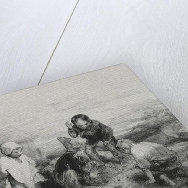 The Deciding Throw by Alexandre-Gabriel Decamps