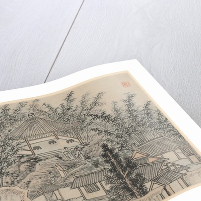 Twelve Views of Tiger Hill, Suzhou: Bamboo Pavilion, Tiger Hill, after 1490 by Shen Zhou