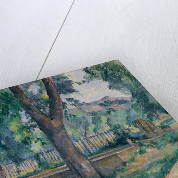 The Pool at Jas de Bouffan, ca. 1885-86 by Paul Cezanne