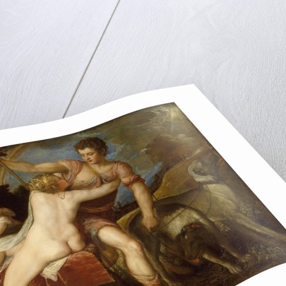 Venus and Adonis, 1550s by Titian