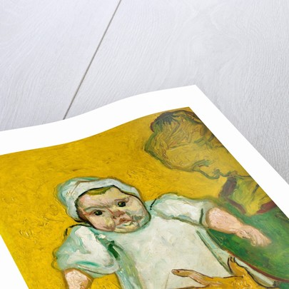 Madame Roulin and Her Baby, 1888 by Vincent van Gogh