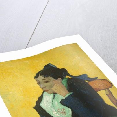L'Arlésienne: Madame Joseph-Michel Ginoux, 1888-89 by Vincent van Gogh