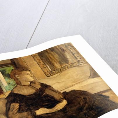 Madame Théodore Gobillard, 1869 by Edgar Degas