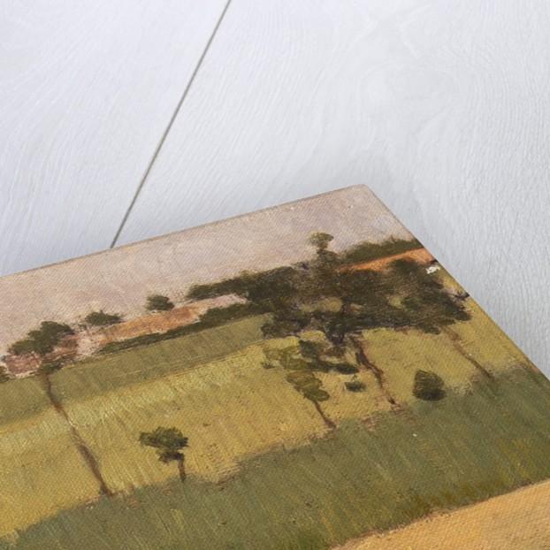 The Outskirts of a Village, ca. 1880 by Edmond Francois Aman-Jean